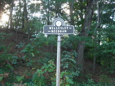 Wellesley Needham sign