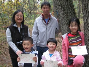 Wellesley Kids' Trails Day letterboxing