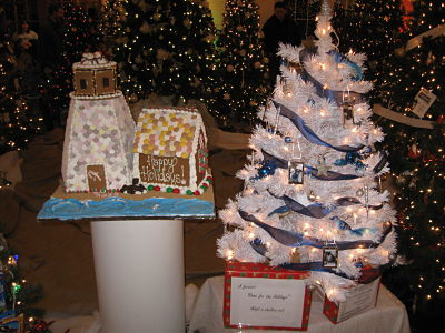 Mass Hort Festival of Trees at Elm Bank