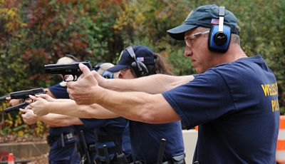 Wellesley Police Department range day