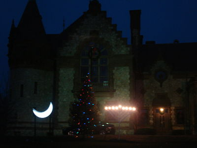 Wellesley town hall Christmas
