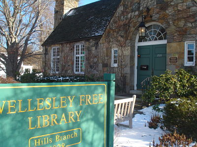 wellesley hills library