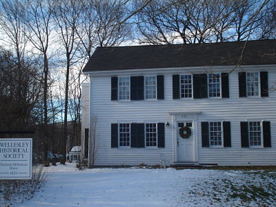 Wellesley Historical Society, Dadmun-McNamara House