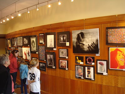 wps art show wellesley free library