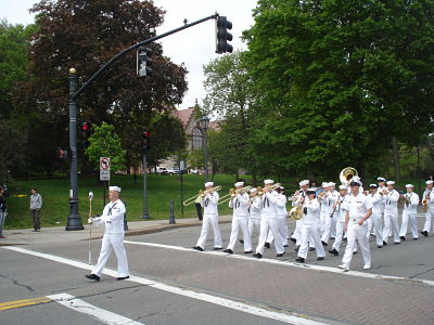 wellesley navy band parade may 2011