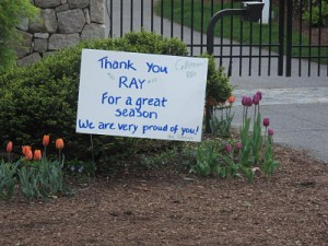 Ray Allen sign