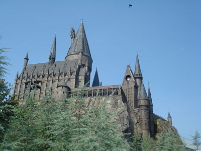 harry potter universal castle june 2011