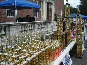 elm bank car show trophies