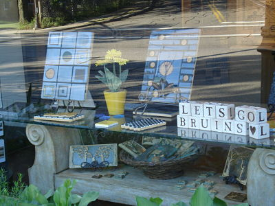 wellesley tile store bruins display