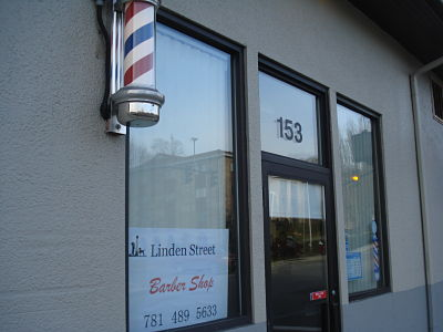 Linden St. Barber Shop opens Dec 2011