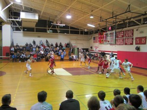 Wellesley High hoop v Milton Jan 2012