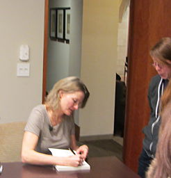 Jennifer Egan at Wellesley College