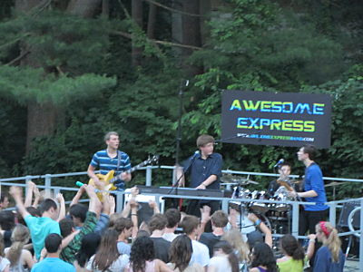 Awesome Express, Wellesley summer concert