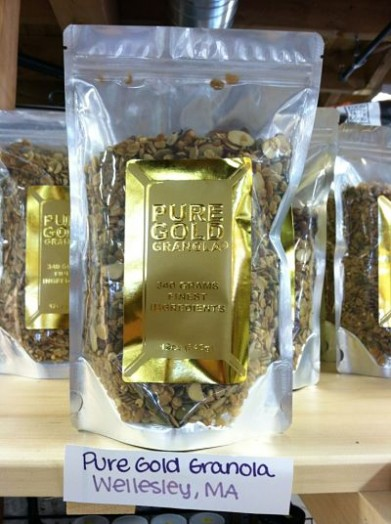 Pure Gold Granola, Wellesley MA