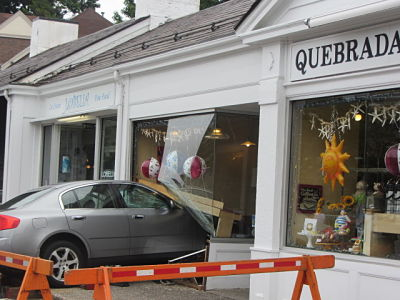 Quebrada car crash Wellesley Hills July 2012