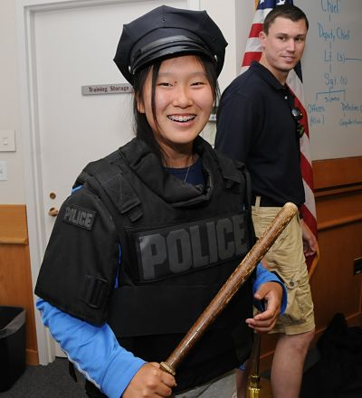 Wellesley Police Youth Academy 2012