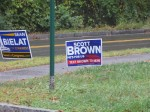 2012 republican signs, wellesley