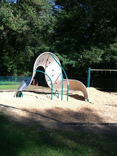 Hunnewell school playground structure, Wellesley