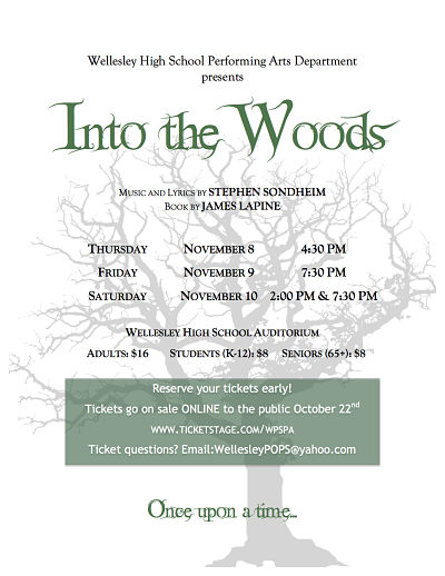 Into the Woods, Wellesley High