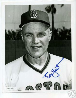 Eddie Yost Wellesley Hills Boston Red Sox