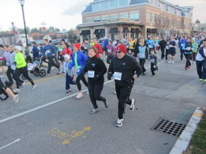 Wellesley turkey trot