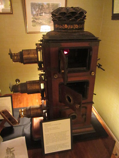 Magic Lantern, Wellesley Historical Society