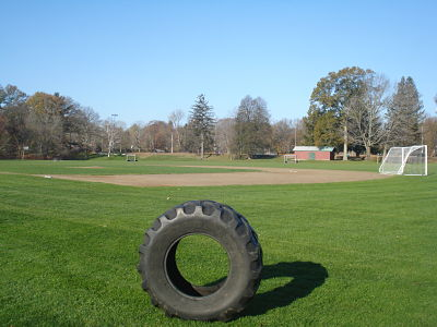 Hunnewell Field tire