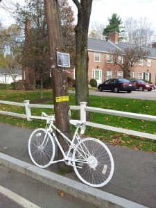 Ghost Bike Wellesley