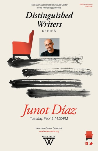 Junot Diaz, Wellesley College