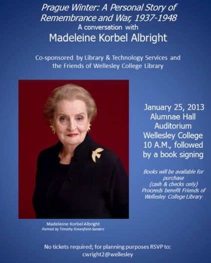 Albright book Wellesley