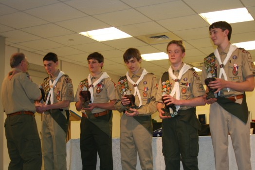 Wellesley eagle scouts, 2013