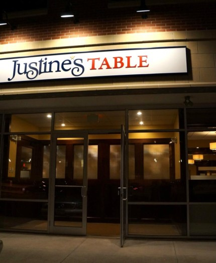 justine's table