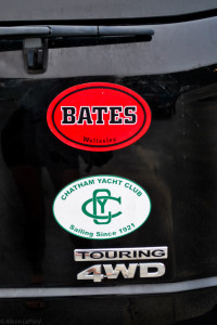 Bates bumper sticker