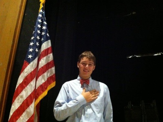 Kyle MacKinnon Pledge of Allegiance May 2013