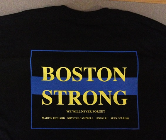Wellesley pd boston strong t shirt sales to benefit boston for Boston strong marathon t shirts