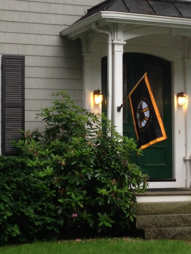Bruins flag wellesley june 2013