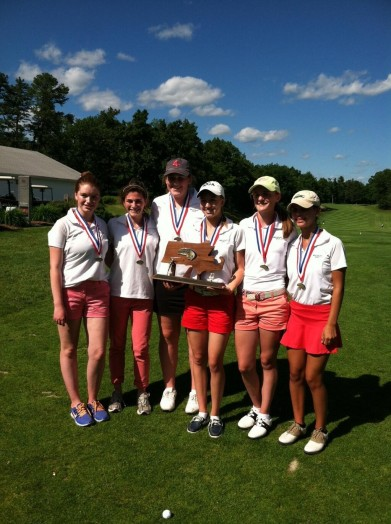 Wellesley High School Massachusetts State Champions, 2013
