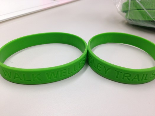 Wellesley Trails bracelets