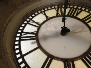Exclusive inside look at Sprague clock tower