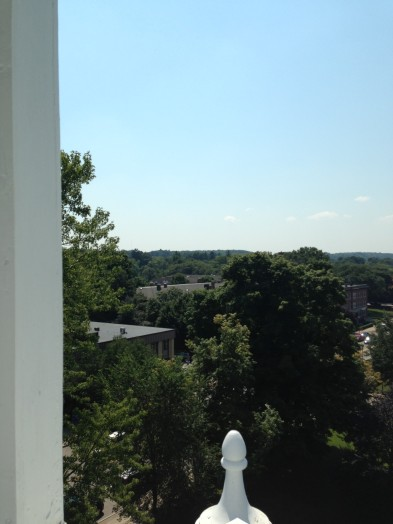 View from Sprague Clock Tower