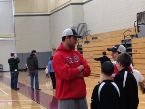 Major League baseball player Nate Freiman returns to Wellesley