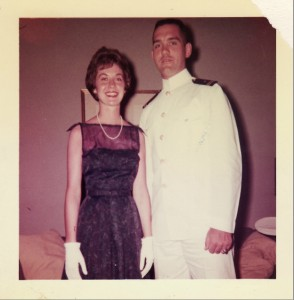 Patricia Kelleher (formerly known as Mrs. John J. Wiley) and her late husband. Photo courtesy of TLC.