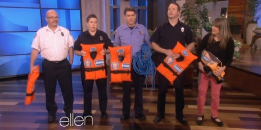 ellen show firefighters