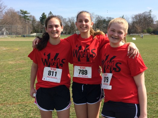 WMS mini marathon girls 2014
