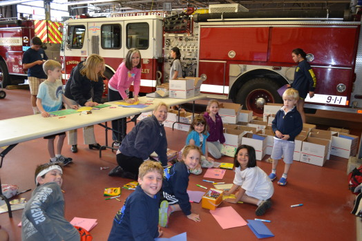 Wellesley Fire Department, volunteer day
