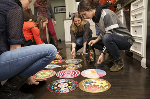 Record painting in Wellesley