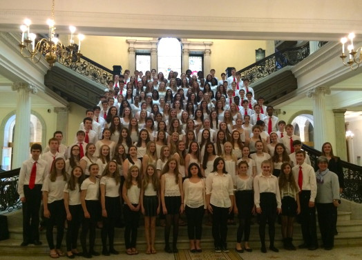 Wellesley Middle School choruses