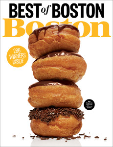 Boston magazine august cover