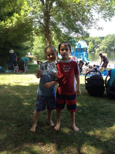 Wellesley Mothers Forum cookout Morses Pond
