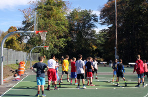 wellesley basketball court reopening october 2014